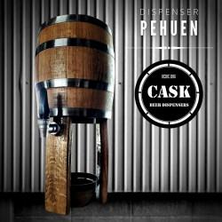 Dispenser de Cerveza en Barrica de 5 Litros con canilla...