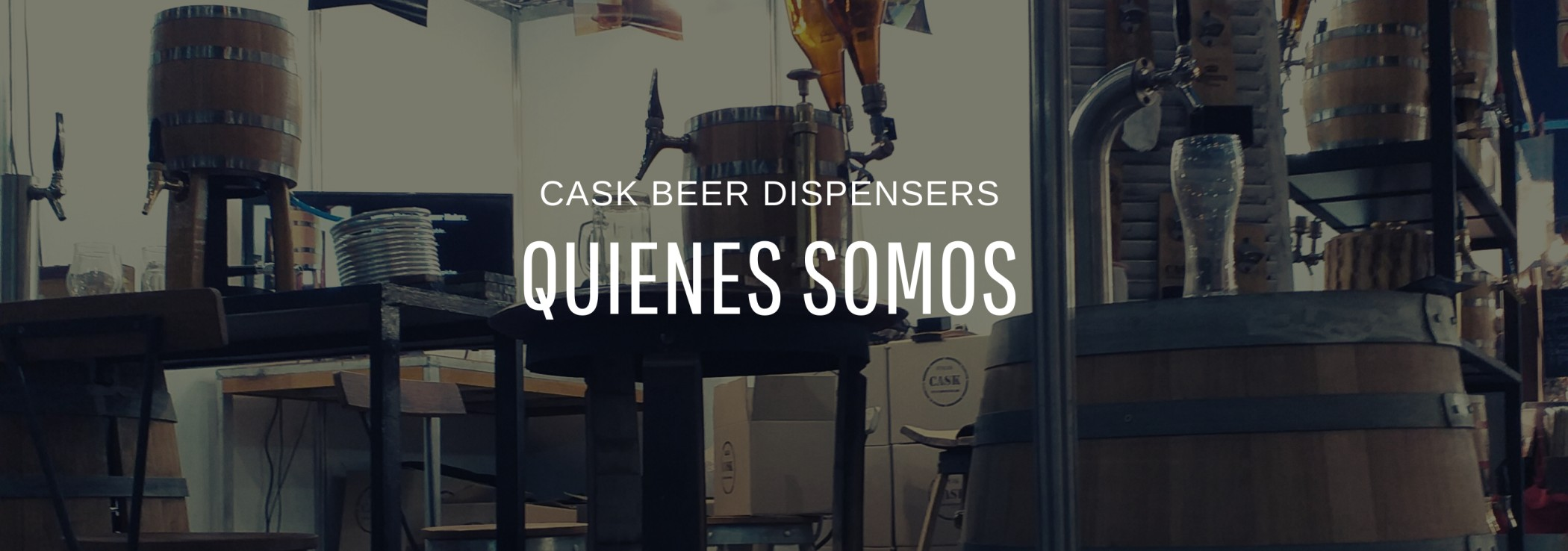 cask beer dispernsers